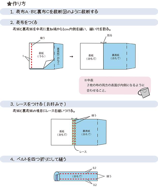 印刷 html pdf 印刷 : ミシンで簡単につくれる、ブックカバーの作り方